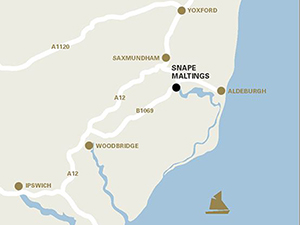 Getting to Snape Maltings
