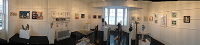 Panoram of Catch My Drift Exhibition